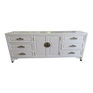 Century Asian Inspired Lacquered Dresser For Sale