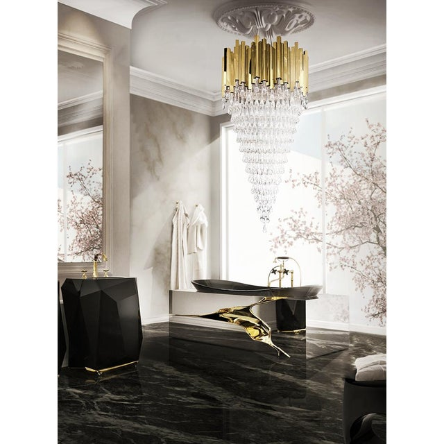 Luxxu Chandelier Drop Water From Covet Paris For Sale - Image 4 of 4