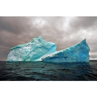 John Conn, Antarctica #98, Limited Edition Photograph, Iceberg, Nature, Landscape, Eco-Conscious, Blue For Sale