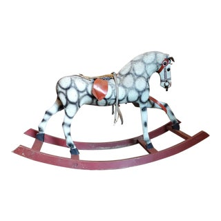 Antique Childs Rocking Horse For Sale