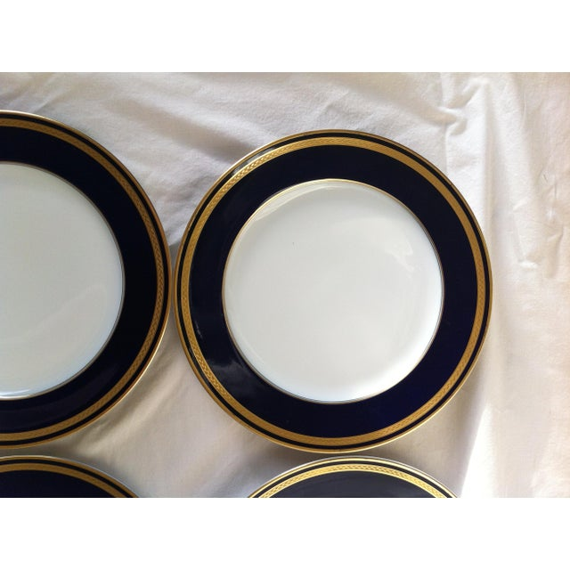 "Hutschenreuther ""Monarch"" China Plates - Set of 4 For Sale - Image 7 of 10"