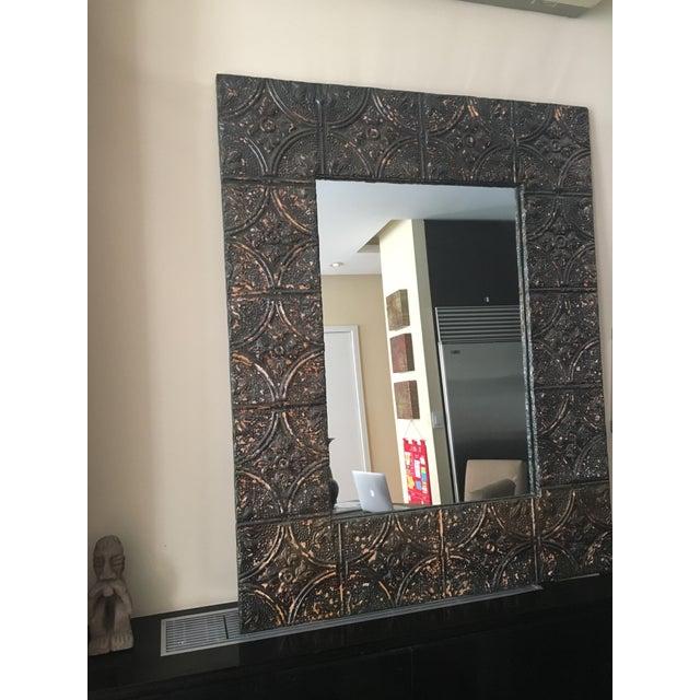 Large Metal Framed Mirror - Image 2 of 4