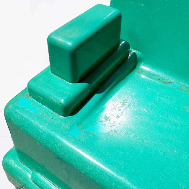 "Marco Zanini ""Roma"" Fiberglass Chair for Memphis For Sale In Los Angeles - Image 6 of 7"