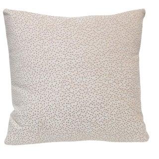 Kravet Chenille Polka Dot Pillow