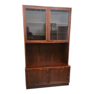 1960s Danish Modern Cabinet Media Center For Sale