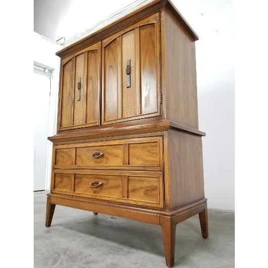 1960s 1960s Dixie Mid-Century Highboy Dresser For Sale - Image 5 of 13