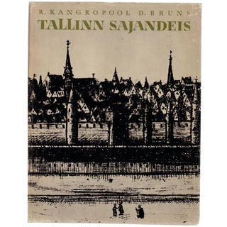 """1972 """"Signed Edition, Tallinn Sajandeis"""" Collectible Book For Sale"""