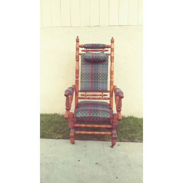 Beautiful Antique rocking chair from the victorian era. Circa 1800's excellent condition