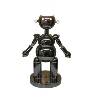 1970s Robot Lamp by the Torino Lamp Co. For Sale