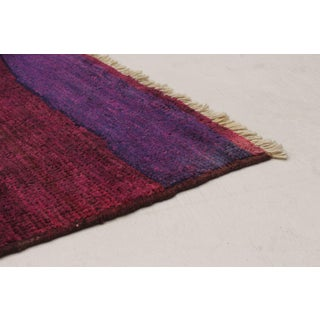 "Purple Moroccan Style Hand-Knotted Rug, 9'4"" X 11'11"" Preview"