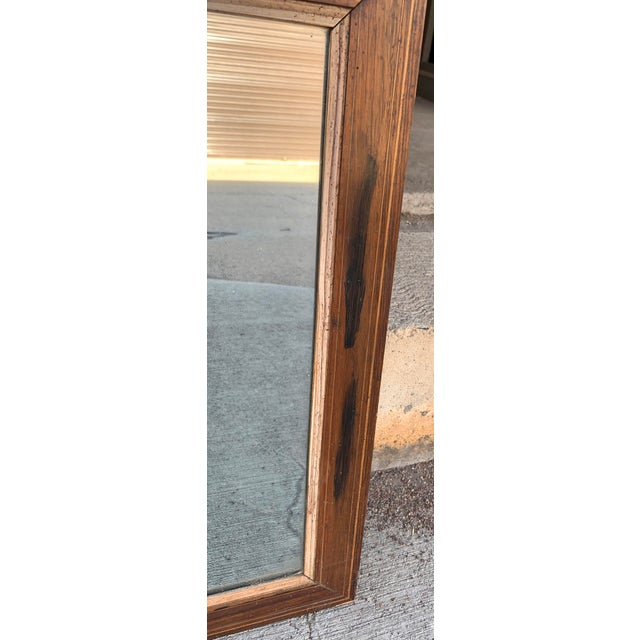 French Trumeau Mirror With Idyllic Pastoral Landscape For Sale - Image 12 of 12