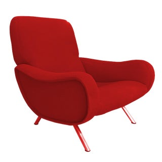 "Rare Early ""Lady"" Lounge Chair by Marco Zanuso For Sale"