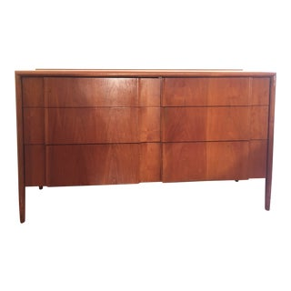 1960s Mid-Century Modern Barney Flagg for Drexel Parallel Sculpted Drawers For Sale