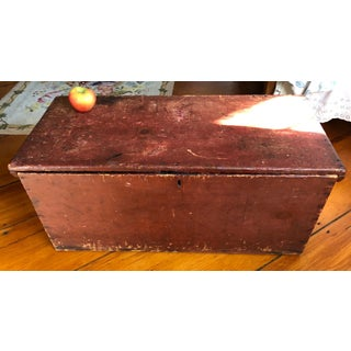 19th Century Antique Board Blanket Chest Preview