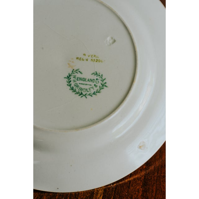 1920s Vintage W. H. Grindley & Co. China Dishes and Serving Platter For Sale - Image 9 of 10