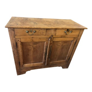 Antique Pine French Buffet For Sale