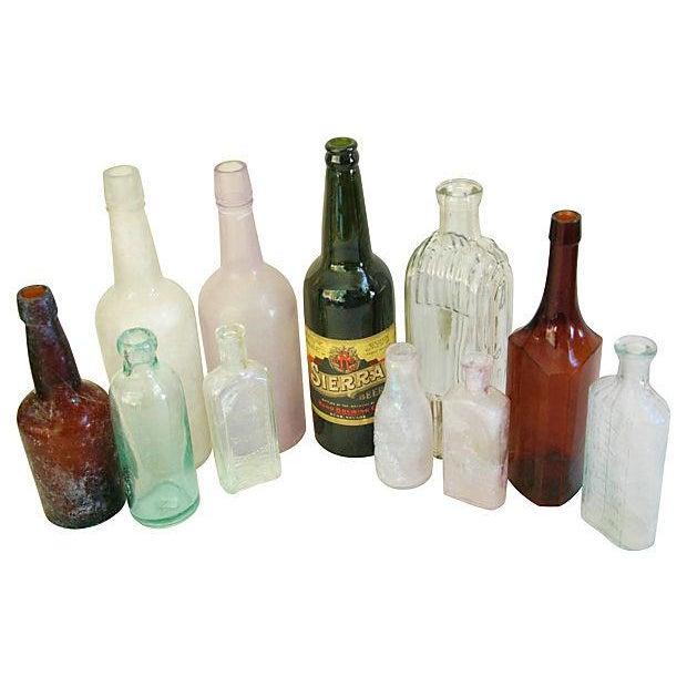Antique Bottle Collection - Set of 11 - Image 2 of 2