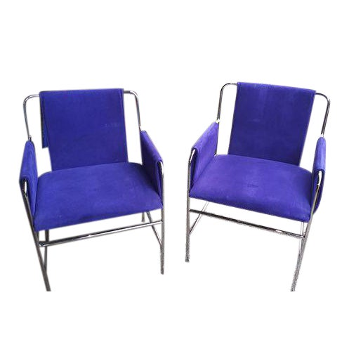 Ward Bennett Envelope Chairs- A Pair For Sale