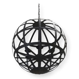 "Dessin Fournir Banded Orb Iron ""Lucet"" Chandelier Preview"