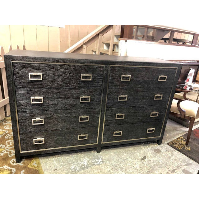 Traditional 8-Drawer Lowboy Dresser For Sale In Charlotte - Image 6 of 6