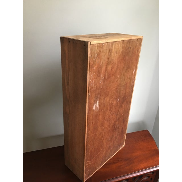 Wood 20th Century Country Napa Valley Wooden Wine Crate For Sale - Image 7 of 8