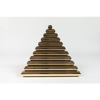 Vintage Brass Pyramid Box Preview