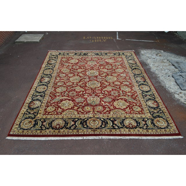 STORE ITEM #: 15491-fwmr Isfahan 12x16 Hand Knotted Persian Rug AGE/COUNTRY OF ORIGIN – Approx 25 years, Iran...