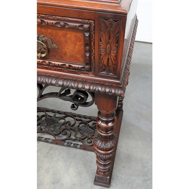 Regency Style Marble Top Sideboard For Sale - Image 9 of 12