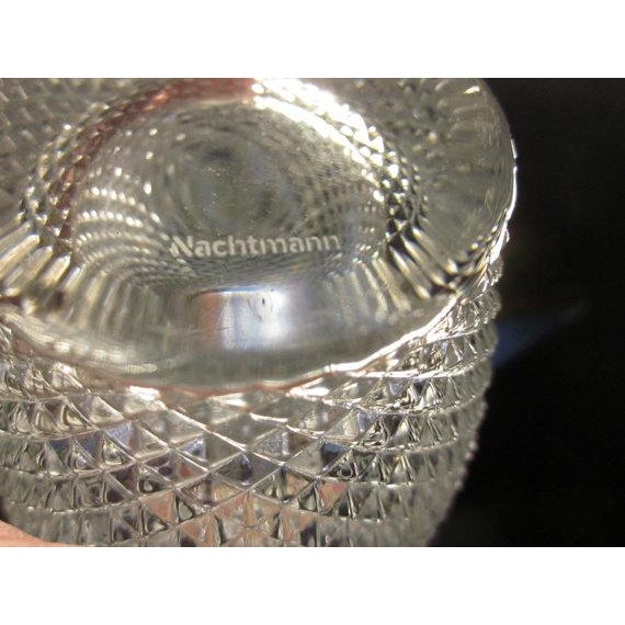 Mid-Century Modern Nachtmann Crystal Vase For Sale - Image 3 of 3