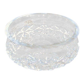 Irish Waterford Crystal Bowl Comeragh Pattern For Sale
