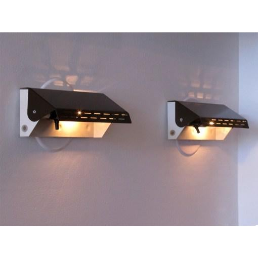 Enameled Dutch Wall Lights - A Pair - Image 8 of 10