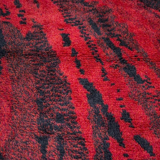 "Marvelous ""Orfeo"" Wool Carpet by Renata Bonfanti For Sale"