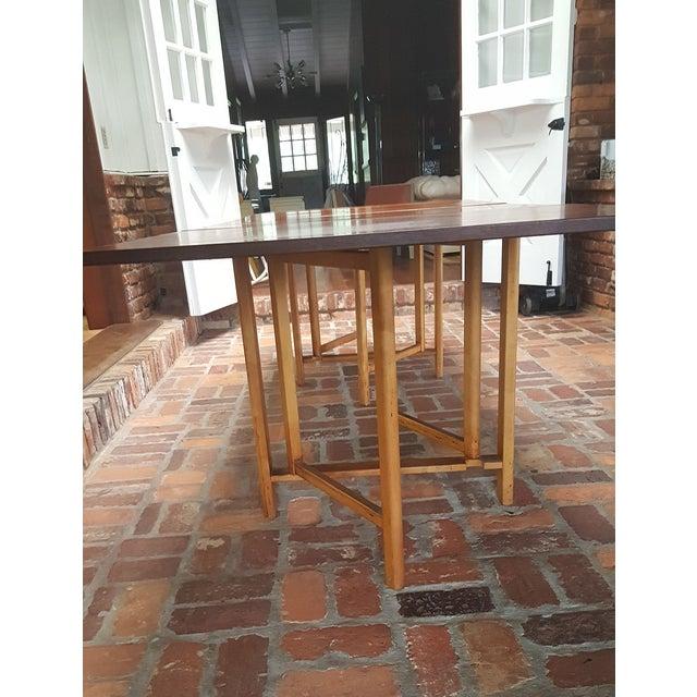"Bruno Mathsson Bruno Mathsson Gate-Leg ""Maria"" Table For Sale - Image 4 of 7"