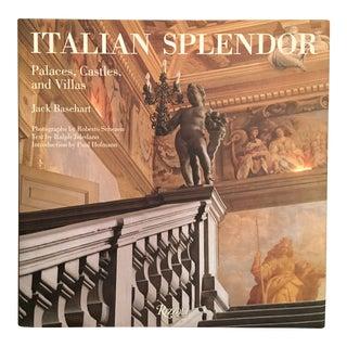 Italian Splendor: Palaces, Castles & Villas, Jack Basehart, First Edition Book For Sale
