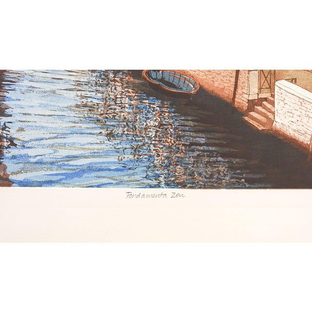 F. St. Clair Miller Venice Italy Etching - Image 3 of 5