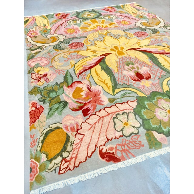 This rug is woke! An explosion of color. You can't resist smiling. It's Ganten, a rug designed by Stephanie Odegard of...