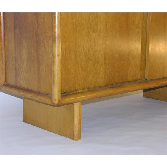 Mid-Century Modern T.H. Robsjohn-Gibbings for Widdicomb Gentleman's Chest For Sale - Image 3 of 8