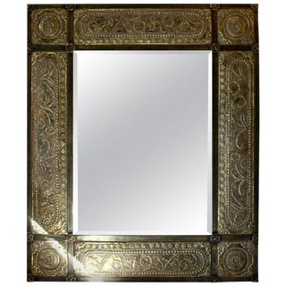 1990s Moroccan Style Wall Mirror For Sale