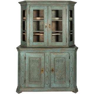 Painted Baroque Display Cabinet Preview