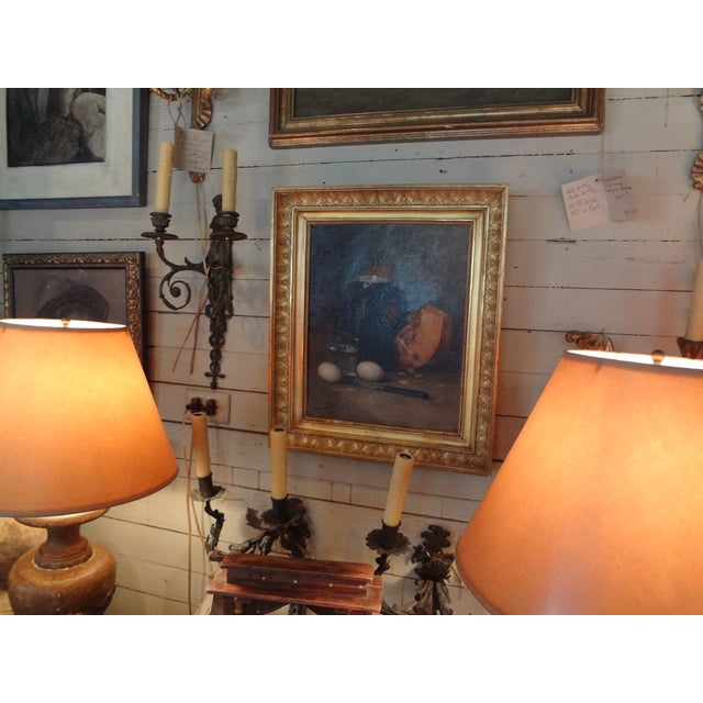 French Still Life 19th Century Painting For Sale - Image 10 of 11