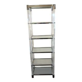 Contemporary Mitchell Gold Melrose Bookcase For Sale