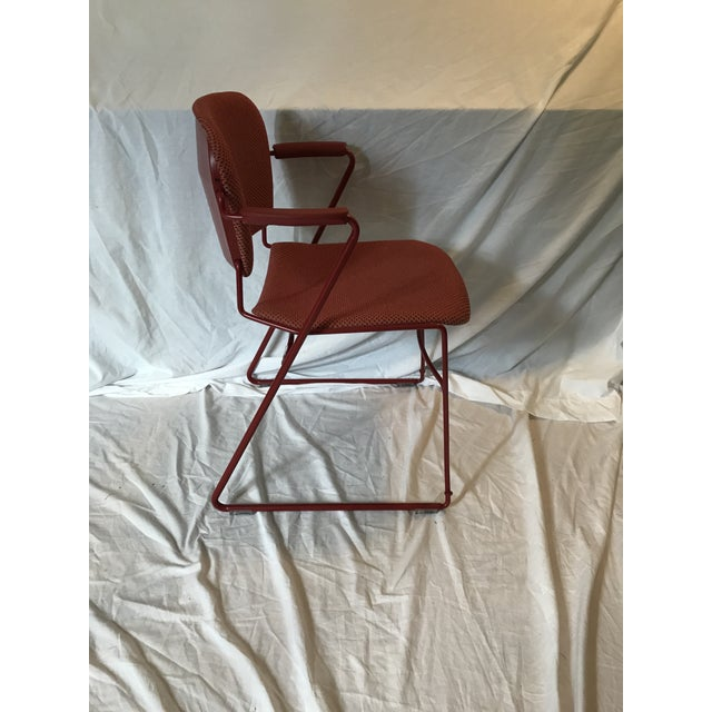 KI Industry 'Perry' Sled Ergonomic Arm Chair - Image 4 of 9
