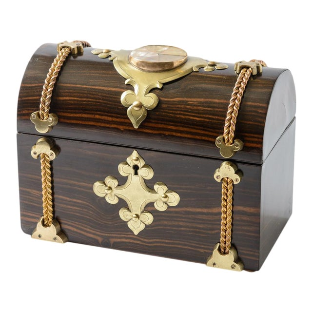 Coromande Wood Box For Sale