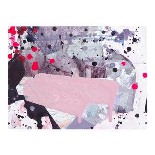 """Viola"" Original Mixed Media Painting"