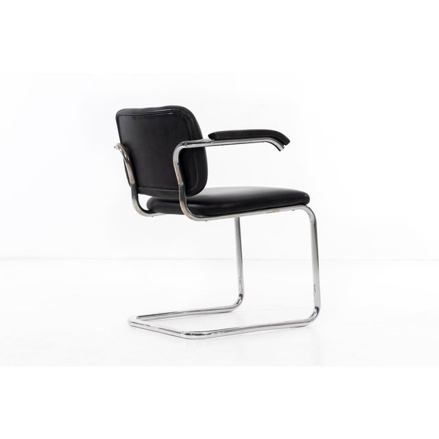 Silver Set of 12 Marcel Breuer Dining Chairs For Sale - Image 8 of 11