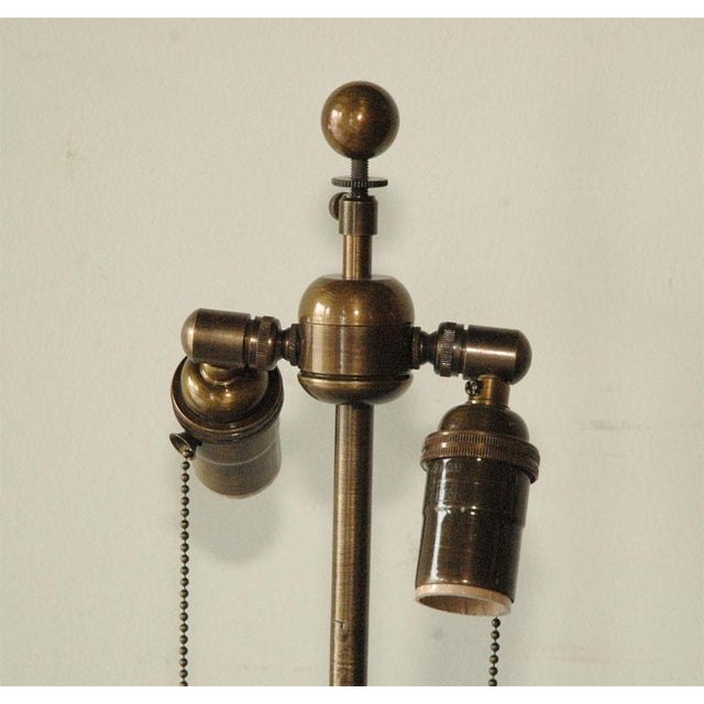 Metal Obelisk Table Metal Foor or Tall Table Lamp For Sale - Image 7 of 10