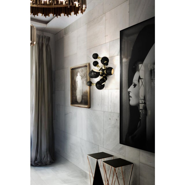 Atomic Wall Lamp From Covet Paris For Sale - Image 12 of 13