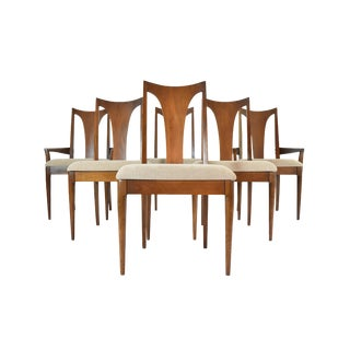 Broyhill Premiere Mid-Century Modern Dining Chairs - Set of 6