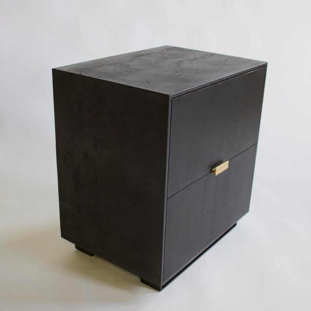 Hanks Concrete Nightstand For Sale - Image 9 of 10