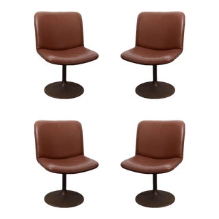 Swivel Chairs by Tapiovaara - Set of 4 For Sale